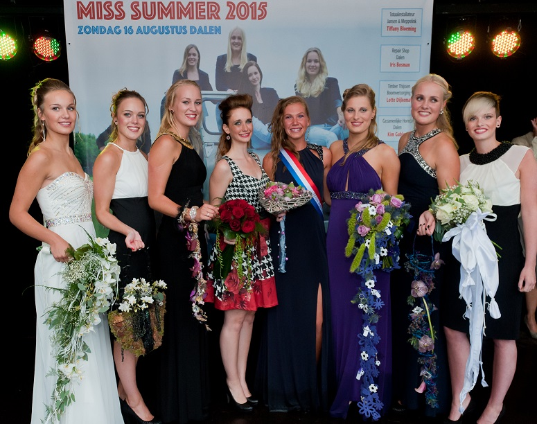 Miss Summer Verkiezing Dalen 2015
