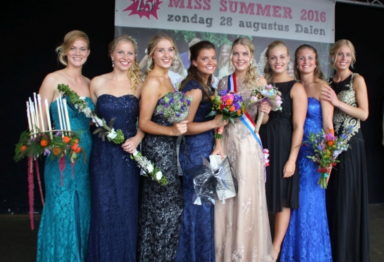 Miss Summer Verkiezing Dalen 2016