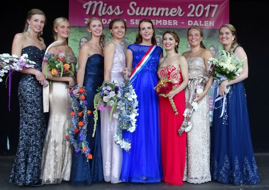 Miss Summer Verkiezing Dalen 2017