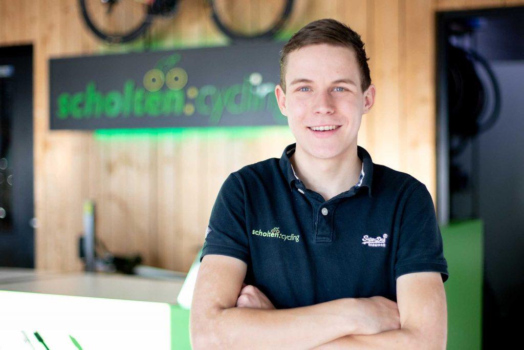 Jeffrey Veltink - Nieuwe eigenaar van Scholten Cycling