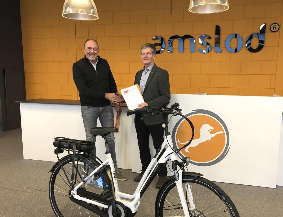 Amslod - Nieuwe hoofdsponsor Drentse Fiets-4-Daagse